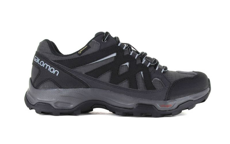 Salomon Effect Gtx Grey Black Men Fastening and protection