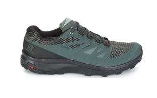 Salomon OUTLINE GTX VERDE GRIS L40477100
