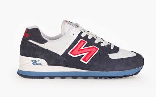 New Balance ML574 CLASICO & LIFESTYLE NEGRO BLANCO ML574ESC
