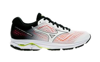 Mizuno WAVE RIDER 22 OSAKA WHITE BLACK WOMEN J1GD1837 01