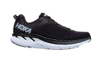 Hoka ROAD CLIFTON 5 KNIT BLACK 1094309 BWH
