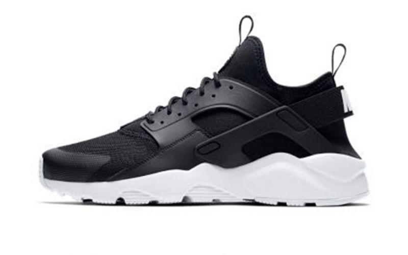 diversión Kenia déficit  Nike Air Huarache Run Ultra Negro Blanco - Zapatillas tipo casual