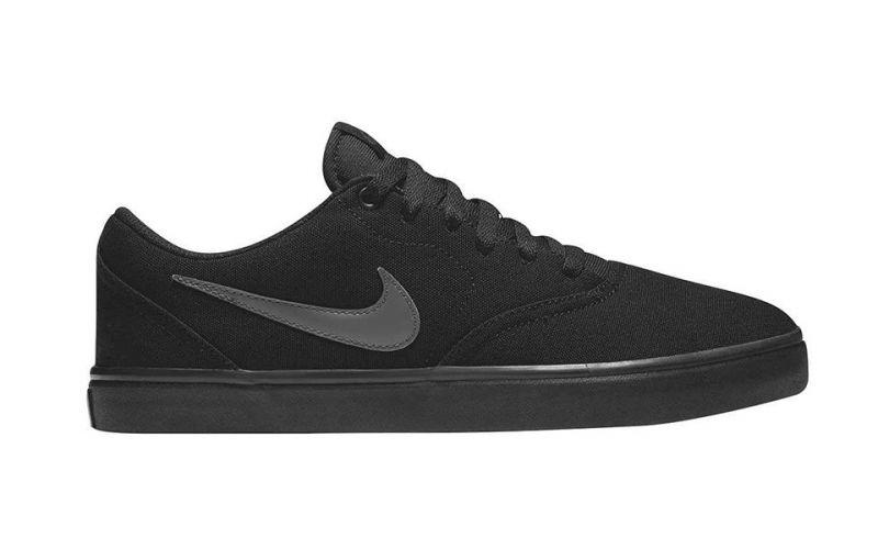 16b8bd12c0251 Nike SB Check Solar Canvas Black - Nike men sneakers