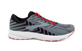 BROOKS LAUNCH 6 GRIS NEGRO 1102971D071