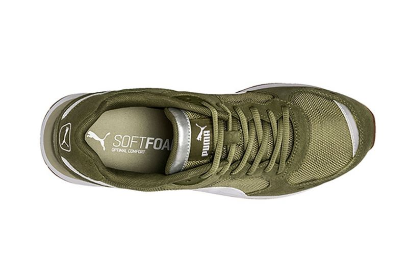 Puma Vista Army Green - Elegant design