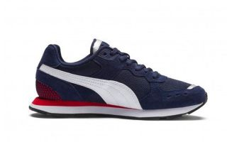 Puma VISTA AZUL BLANCO JUNIOR 369539 02
