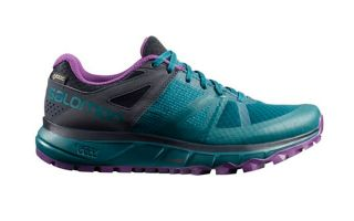 Salomon TRAILSTER GTX VERDE VIOLETTO DONNA L40488500
