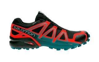 Salomon SPEEDCROSS 4 GTX NEGRO AZUL ROJO 40657500