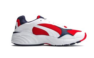 Puma CELL VIPER WHITE RED 369505 03