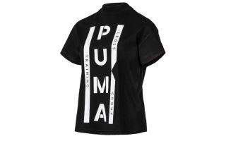 Puma CAMISETA XTG GRAPHIC NEGRO BLANCO MUJER 578016 01