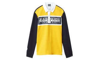 Napapijri EMEI YELLOW POLO SHIRT