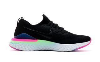 Nike EPIC REACT FLYKNIT 2 NEGRO AZUL NIBQ8928 003