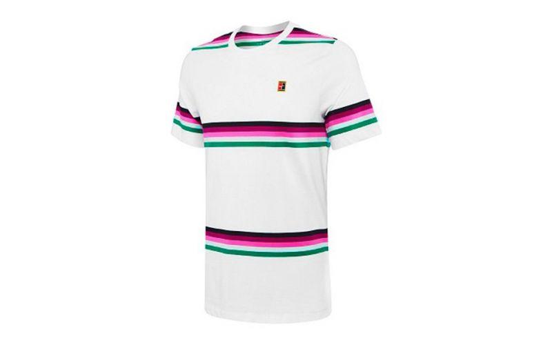 Stripe bianca T multicolor Shirt Heritage IYH29WED
