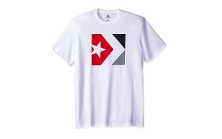 CONVERSE CAMISETA STAR CHEVRON BOX BLANCO