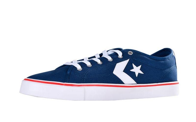 Converse Star Replay Ox navy blue Comfort