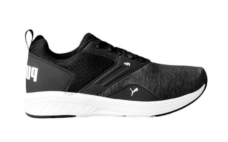 67941a2363d109 Puma NRGY Comet black white - Running shoes for men