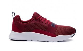 Puma WIRED ROUGE BLANC 366970 06