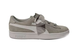Puma SMASH V2 RIBBON GRIS JUNIOR 366003 09
