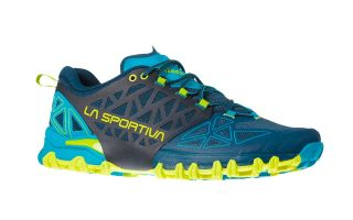 LA SPORTIVA BUSHIDO II BLUE LIGHT GREEN 36S618705
