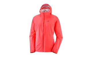 Salomon LIGHTNING WATERPROOF PINK WOMEN JACKET LC1064300