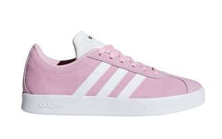 adidas VL COURT 2.0 PINK WHITE GIRL F36375