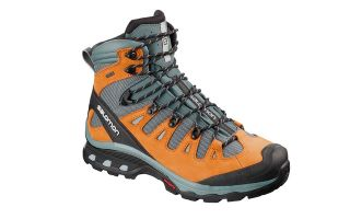 Salomon QUEST 4D 3 GTX GREY ORANGE L40658300