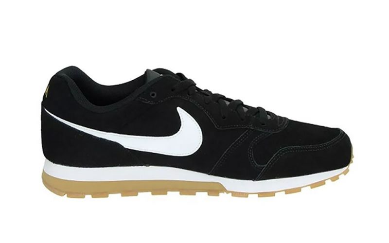 MD RUNNER 2 SUEDE BLACK WHITE NIAQ9211 001