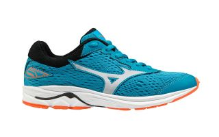 Mizuno WAVE RIDER 22 BLUE WHITE JUNIOR K1GC1833 03