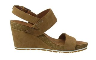 Timberland CAPRI SUNSET WEDGE BROWN WOMEN TB0A1PGVF131