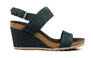 Timberland CAPRI SUNSET WEDGE BLACK WOMEN SANDALS TB0A1MSY0151