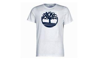 TIMBERLAND CAMISETA BRAND TREE LIN BLANCO
