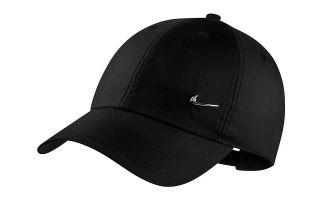 NIKE METAL SWOOSH BLACK CAP
