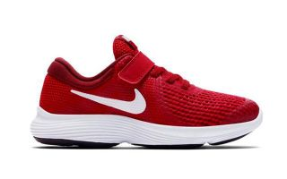 Nike REVOLUTION 4 ROJO BLANCO JUNIOR NI943305 601