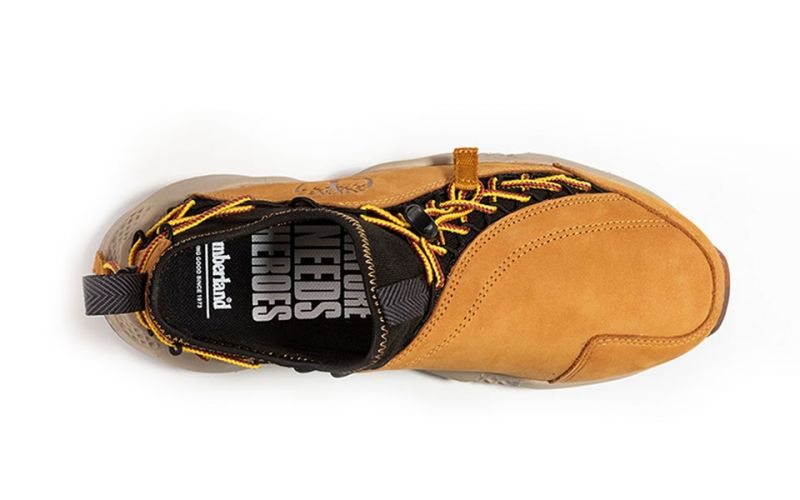quite nice store on feet at Timberland Ripcord Bungee yellow - Aerocore system