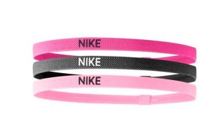 NIKE ELASTIC HAIRBANDS 3PK VARIOS