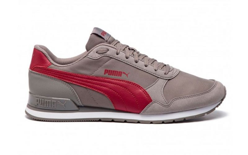 ff06abb9c Puma St Runners V2 grey red - Rubber sole