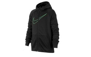 Nike FELPA DRI FIT NERO JUNIOR