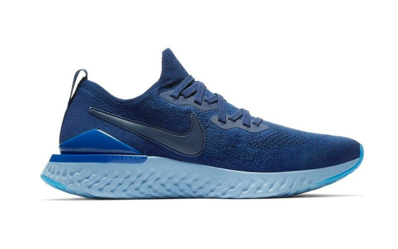 f7f58c136185c Nike Epic React Flyknit 2 blue - The most comfortable race