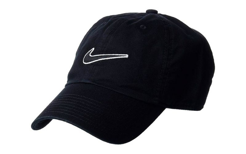 d9cd91db43aaf Nike Heritage 86 Essential Swoosh black cap - Quality and comfort