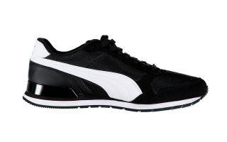 Puma ST RUNNER V2 MESH BLACK WHITE