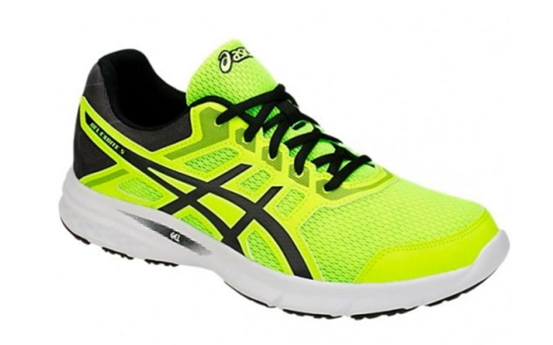 Asics Gel-Excite 5 fluor yellow black - Men running shoes