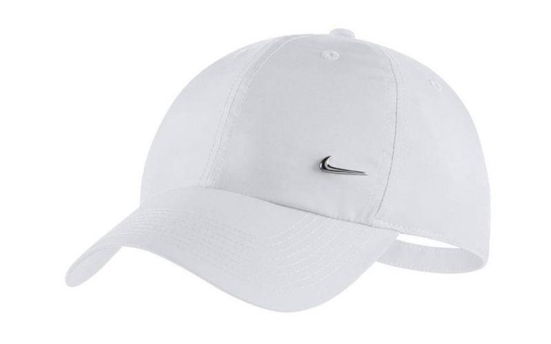 33ec1f98 Nike Metal Swoosh H86 white cap - With six ventilation panels