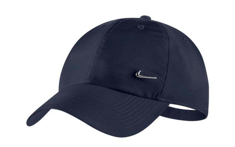 b04a60a42 METAL SWOOSH H86 NAVY BLUE CAP