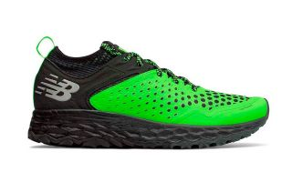 New Balance FRESH FOAM HIERRO V4 BLACK GREEN MTHIERR4