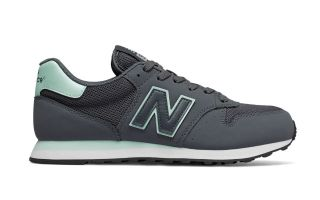 NEW BALANCE 500 GRIS TURQUESA MUJER GW500STM
