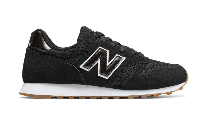 4d81148f14bb0 New Balance 373 black white women - Sneakers for women