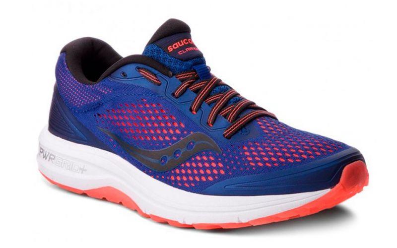 najnowsza kolekcja najlepsze ceny na stopach o Saucony Clarion blue red - Saucony's mythical running shoes