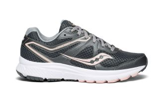 SAUCONY COHESION 11 MUJER GRIS DURAZNO S10420-7