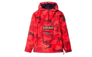 Napapijri RAINFOREST CROSS RED JACKET