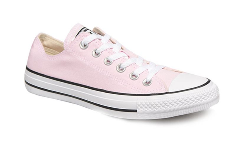 Converse Chuck Taylor All Star Ox Pink Foam Rosa Blanco Mujer